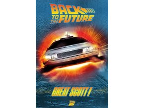 poster back to the future návrat do budoucnosti plakat