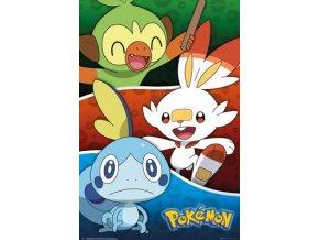 pokemon poster Galar Starters