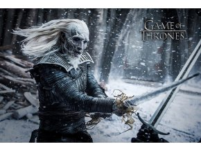 poster game of thrones white walker