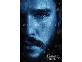 poster game of thrones winter is here