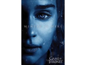 poster game of thrones winter is here 2