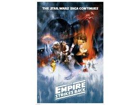 poster plakat The Empire Strikes Back star wars