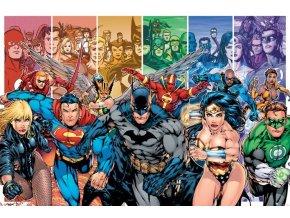 dc comics justice league liga spravedlnosti plakat america generation