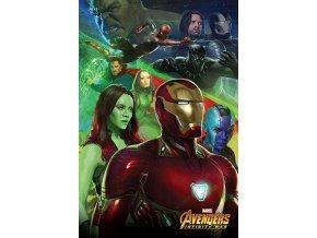 marvel avengers plakat diorama iron man