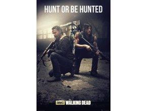 poster WALKING DEAD Hunt plakat