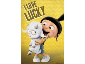 poster DESPICABLE ME 3 I Love Lucky