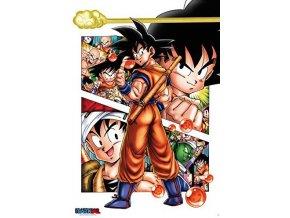 poster dragon ball super plakat Goku story