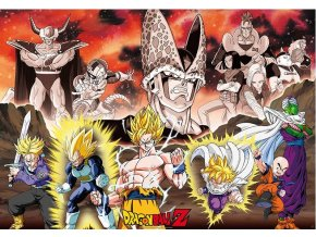 poster dragon ball z plakat Groupe Arc Cell