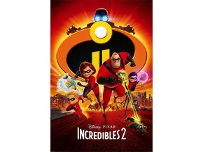 poster plakát Incredibles 2 úžasňákovi