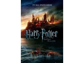 poster harry potter plakat relikvie smrti teaser deathly hallows