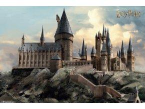 poster harry potter plakat Hogwarts Day bradavice