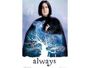 poster harry potter plakat Snape Always