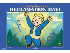 poster fallout Reclamation Day plakat