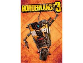 poster plakát Borderlands 3 Claptrap