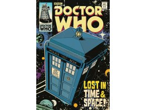 poster plakát doctor who Lost in Time & Space