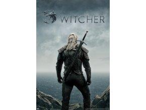 poster plakat THE WITCHER zaklinač Geralt