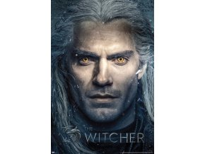 poster plakat THE WITCHER zaklinač zblízka Close Up