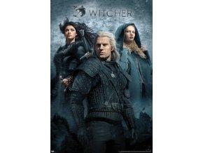 poster plakat THE WITCHER zaklinač Key Art