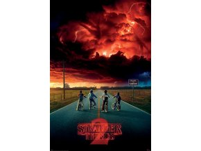 poster plakat stranger things Mind Flayer
