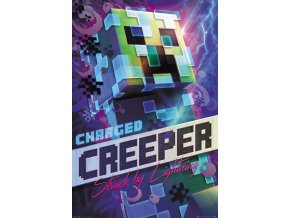 poster plakát minecraft Charged Creeper