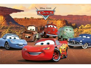 poster plakát cars Characters