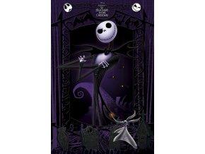 poster plakát NIGHTMARE BEFORE CHRITSMAS ukradené vánoce tima burtona