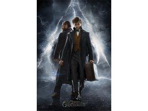 poster plakát FANTASTIC BEASTS 2 Newt & Dumbledore