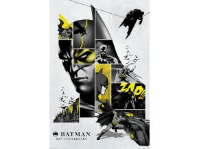 poster plakát BATMAN 80th Anniversary