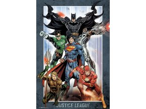 poster plakát DC COMICS Justice League Group