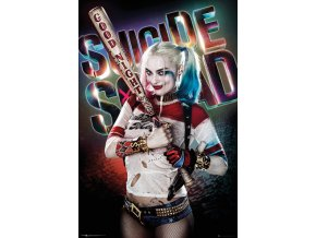 poster plakát SUICIDE SQUAD Harley Quinn Good Night