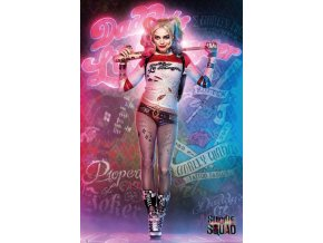 poster plakát SUICIDE SQUAD Harley Quinn Stand