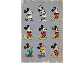 poster plakát DISNEY Mickey Mouse Evolution