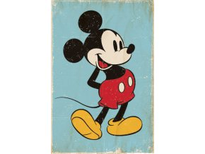 poster plakát DISNEY Mickey Mouse Retro