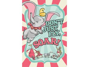 poster plakát DISNEY Dumbo Circus