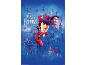 poster plakát DISNEY Mary Poppins Return