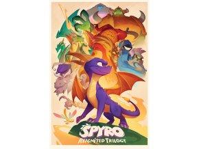 poster plakát Animated Style spyro