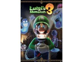 poster plakát nintendo Luigi's Mansion 3