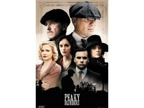 poster plakát PEAKY BLINDERS cast postavy