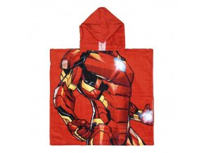 marvel avengers plastenka ponco iron man