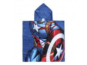 marvel avengers plastenka ponco captain america