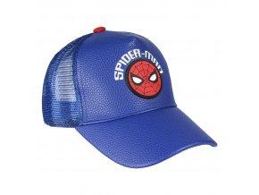marvel spiderman detska baseballova cepice ksiltovka modra logo