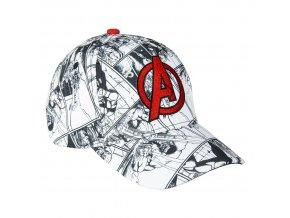 marvel avengers cepice detska ksiltovka logo