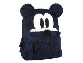 mickey mouse batoh cerny chlupaty