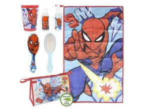marvel spiderman toaletni set