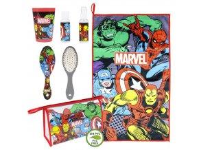 marvel avengers toaletni set