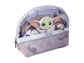 star wars mandalorian toaletni taska baby yoda