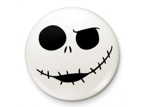 placka nightmare before christmas jack skull