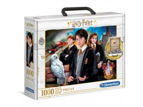 harry potter puzzle kufrik 1000pcs