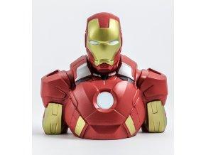 marvel pokladnicka kasicka iron man