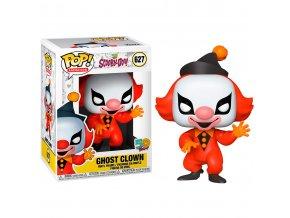 figura funko pop scooby doo! ghost clown 50years